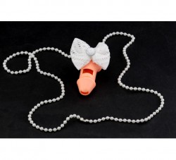 Вилли свисток с бантиком и ожерельем