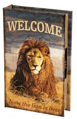 Книга-сейф Царь зверей