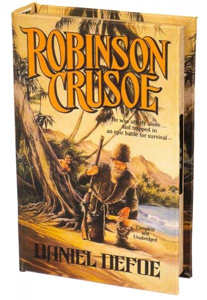 Книга сейф Робинзон Крузо