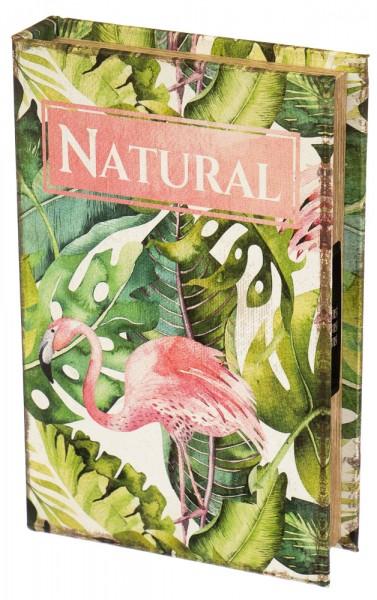 Книга сейф Фламинго