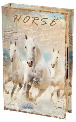 Книга-сейф Белые лошади