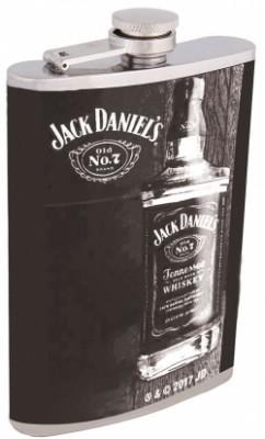 Фляжка красивая для напитков Jack Daniel's black