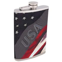 "Фляга алкоголя ""Флаг США"""