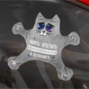 Автоигрушка на присосках  Котик