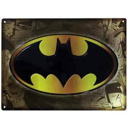 Металлическая картина Бэтмен