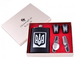 Подарочный набор Украина фляга/нож/стопки