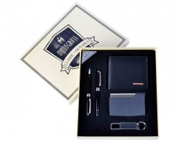 Подарочный набор Moongrass Портмоне/ Визитница/ Брелок/ Ручка