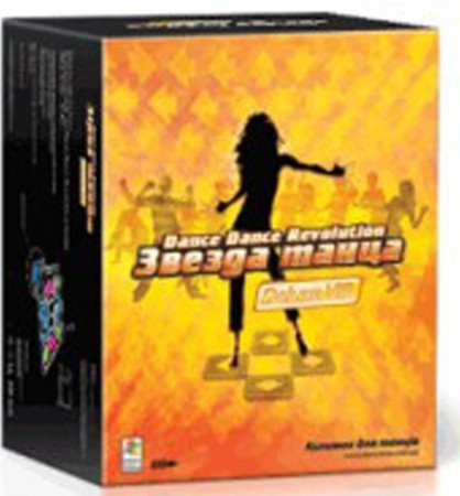 Танцевальный коврик «Звезда танца» DDR Deluxe VIP