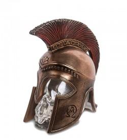 Флакон Спартанский шлем на стеклянном черепе