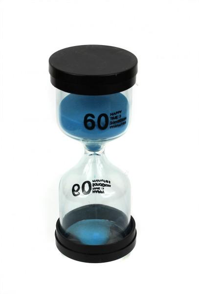 Часы Песочные 60 Мин синий Песок