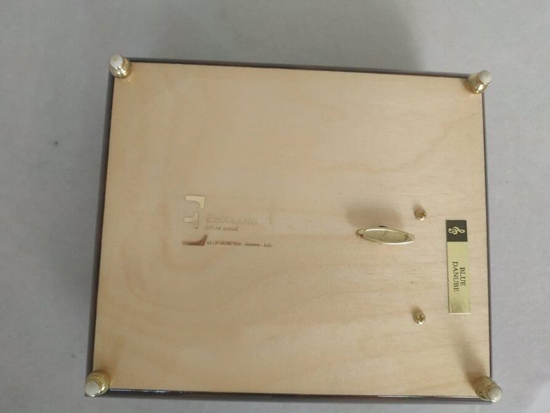 Музыкальная шкатулка  для украшений  Ercolano The Letter