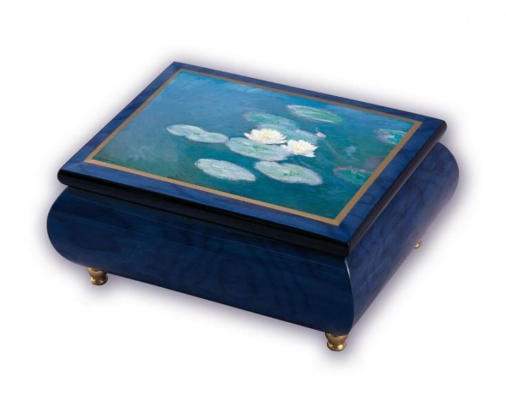 Музыкальная шкатулка ERCOLANO для украшений Nimpheas Effet Du Soir