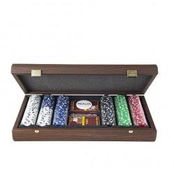 Набор для покера Manopoulos в деревянном футляре