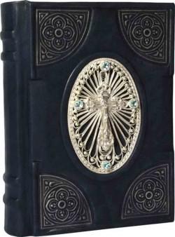 Православный молитвослов c филигранью и топазами
