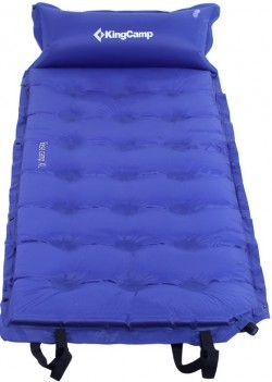 Самонадувающийся коврик KingCamp Base Camp Comfort KM3560 blue