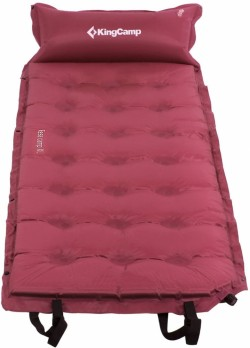 Самонадувающийся коврик KingCamp Base Camp Comfort KM3560 wine red