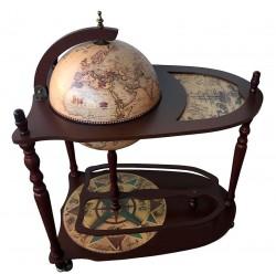 Глобус бар напольный со столом RG33004