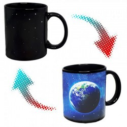 Чашка-хамелеон Земля