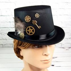 Шляпа Стимпанк Виндария флок