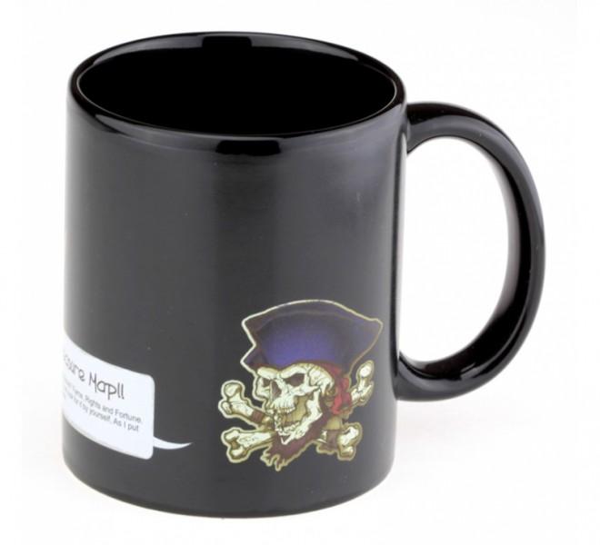 Чашка хамелеон Карта пиратских кладов