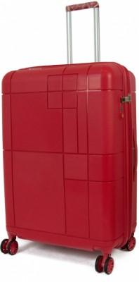 MONOGRAM/Red Чемодан на 4 колесах L (95/105л,5,3кг) (52x75x30см)