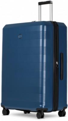 CIELO/Poseidon Blue Чемодан на 4 колесах L (126л,4,5кг) (55x78x30см)