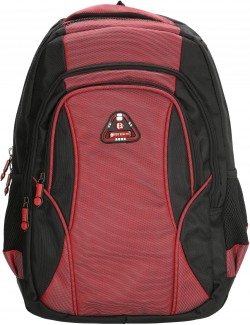 "BARBADOS/Black-Red Рюкзак с отдел. для ноутбука 17"" (39л) (33x45x26см)"