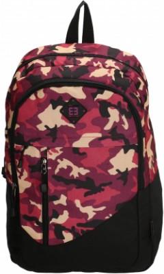 """LA CORUNA/Cherry Camouflage Рюкзак с отдел. для ноутбука 17,3"""" (25л) (31x47x17см)"""