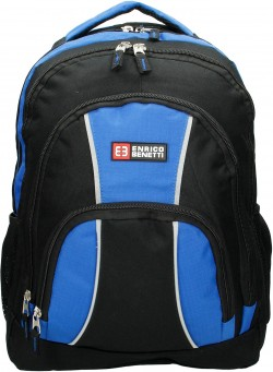 "MARTINIQUE/Black-Sky Blue Рюкзак с отдел для ноутбука 15,6"" (28л) (32x44x22см)"