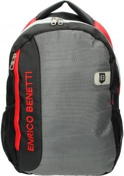 "MONTSERRAT/Black-Grey-Red Рюкзак с отдел. для ноутбука 15,6"" (25л) (31x45x18см)"