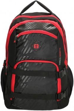 """NATAL/Black-Red Рюкзак с отдел. для ноутбука 17"""" (35л) (32x46x24см)"""