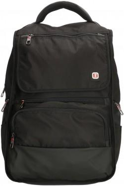"""UPTOWN/Black Рюкзак с отдел. д/ноутбука 17"""" (28л) (32x44x20см)"""
