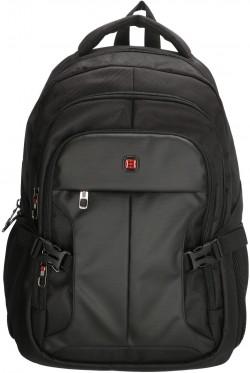 """DOWNTOWN/Black Рюкзак с отдел. для ноутбука 17"""" (26л) (31x45x19см)"""