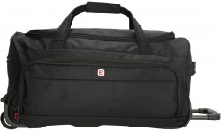 ADELAIDE/Black Дорожная сумка на 2 колесах (46л) (55x28x28см)