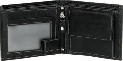 LEATHER/Black Портмоне (10,5x8,5x2,5см)