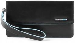 BL SQUARE/Black Клатч с отдел. д/смартфона с RFID защитой (10,5x19x2)