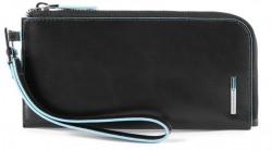 BL SQUARE/Black Клатч с отдел. д/смартфона с RFID защитой (20x9,5x1,5)