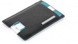 BL SQUARE/Black Кредитница с RFID защитой (7x10x0,5)