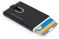 BL SQUARE/Black Кредитница с выдвижным механизмом с RFID защитой (6,2x10,5x1,2)