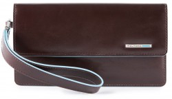 BL SQUARE/Cognac Клатч с отдел. д/смартфона с RFID защитой (10,5x19x2)