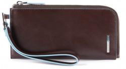 BL SQUARE/Cognac Клатч с отдел. д/смартфона с RFID защитой (20x9,5x1,5)