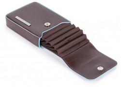 BL SQUARE/Cognac Кредитница верт. с RFID защитой (7x10,5x2)