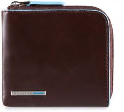 BL SQUARE/Cognac Кредитница на молнии с RFID защитой (10x9x1,5)