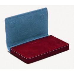 BL SQUARE/Red Визитница для своих визиток (10x6x1,3)