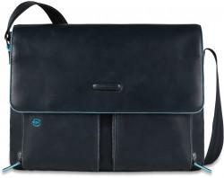 """BL SQUARE/N.Blue Сумка наплечная с отдел. д/ноутбука 15""""/iPad/iPad Air (37,5x29x8)"""