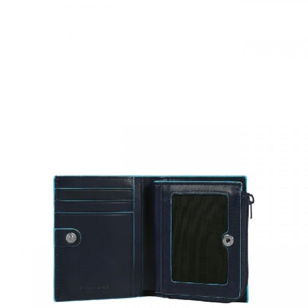 BL SQUARE/N.Blue Кредитница на молнии (8x10,5x2)