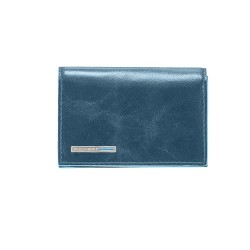 BL SQUARE/P.Blue Визитница для своих визиток на кнопке (10,8x7,5x1,5)