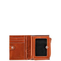 BL SQUARE/Orange Кредитница на молнии (8x10,5x2)