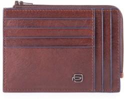 B2S/D.Brown Кредитница с отдел. для монет на молнии с RFID защитой (12,5x9x1)