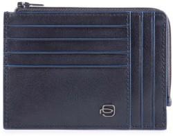 B2S/Blue Кредитница с отдел. для монет на молнии с RFID защитой (12,5x9x1)